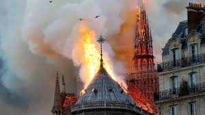 Paris' Notre-Dame engulfed in fire, top fire official says 'main structure saved'