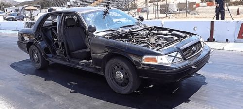 Here's How Much Quicker a Ford Crown Victoria Gets With 1,000 Pounds Removed