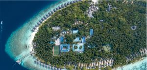 Dusit Thani Maldives rooftop solar panels to reduce its carbon footprint