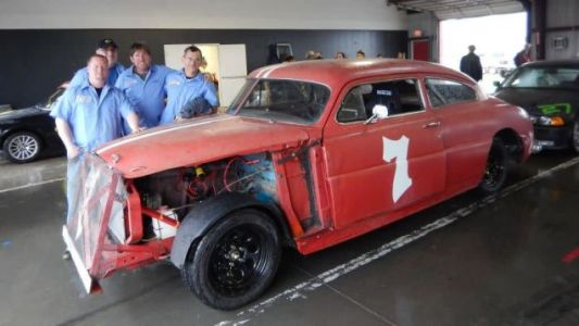 This 24 Hours of Lemons race team built a replica of Mario Andretti's first race car, a 1948 Hudson