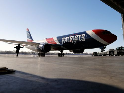 The New England Patriots' Boeing 767 private jet just flew 1.2 million N95 face masks from China to Boston. Take a closer look at the team plane