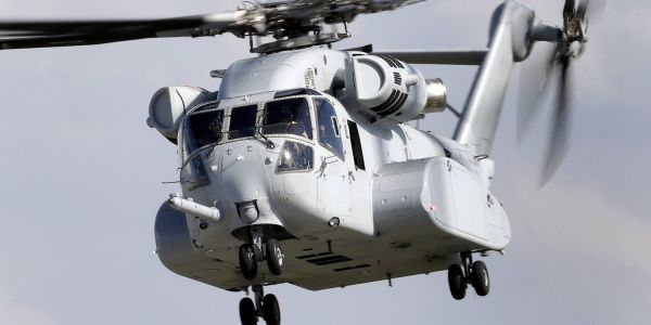 9 photos of the CH-53K King Stallion, the US military's most-powerful and expensive helicopter