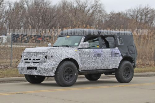 2021 Ford Bronco: Here's Some Spy Shots