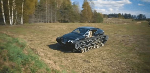 The Way These Russian Mechanics Built This Bentley 'Ultratank' Is Utterly Fascinating