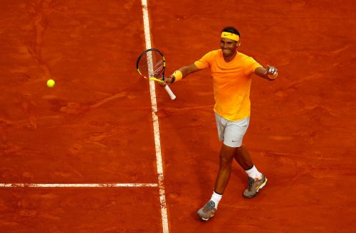 Rafa Nadal has knocked Roger Federer from the world number one spot - and he's the 'clear cut' favourite to win the French Open next month for the 11th time