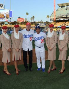 There's Nothing Little About Little League®: The LA Dodgers Batter Up For A Dubai Visit