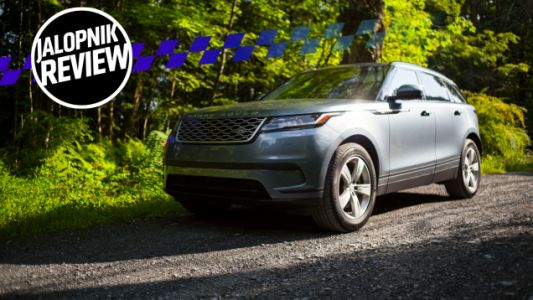 The 2018 Range Rover Velar Rolls Like Royalty and Attracts as Much Attention