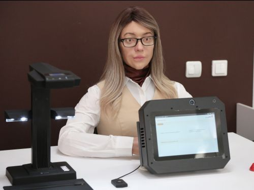 An uncanny humanoid robot is working at a government office in Russia - here's how it works