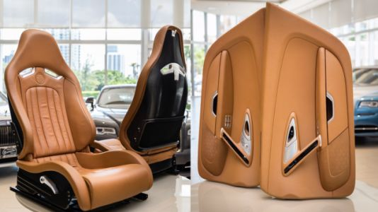 This 2008 Bugatti Veyron Interior Will Cost You a Mere $150,000