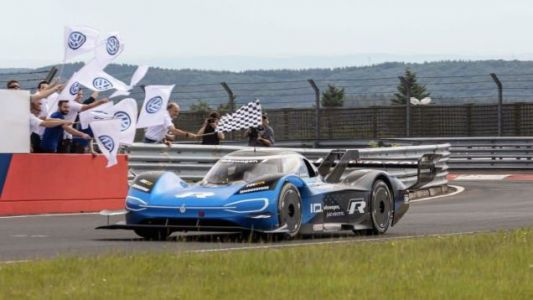 The Volkswagen ID. R Absolutely Crushed the Nürburgring's EV Record