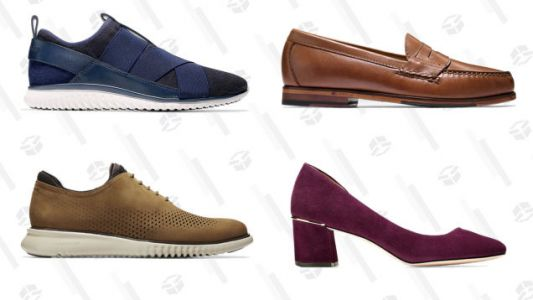 Treat Your Feet To An Extra 40% Off Cole Haan Sale Styles