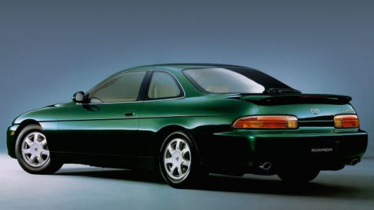 Let us pause for a moment to appreciate the subtle, classy beauty of the Lexus SC, pictured here in