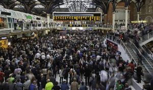 Christmas travel time to quadruple in UK, main lines hit by rail works and tube strikes