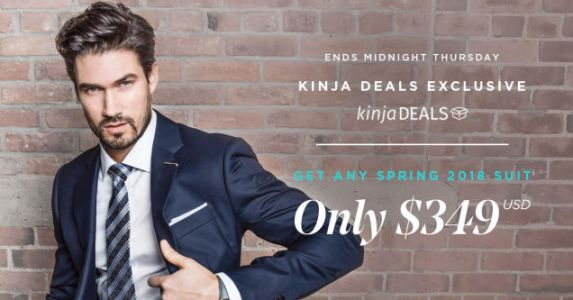 Get Your Dad a Custom Tailored Suit For Just $329