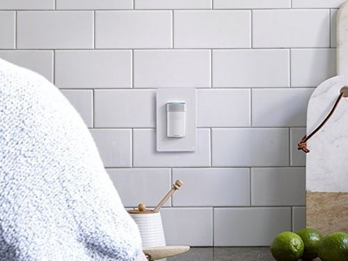 This traditional-looking light switch has an entire Amazon Echo built into it - and it's the perfect way to outfit a smart home without all the bulky tech