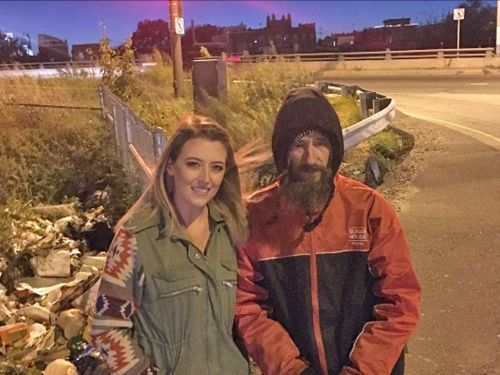 A couple raised $400,000 for a homeless veteran after he paid for their gas - but they refused to hand over the money for months
