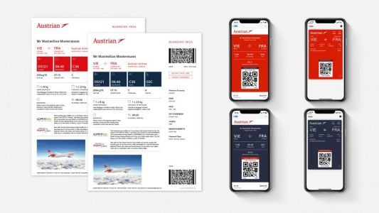 Austrian Airlines Presents New Boarding Pass