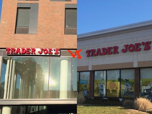 We compared Trader Joe's stores in the city and in the suburbs - and the loser was clear