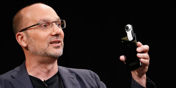 The father of Android has reportedly cancelled his next big smartphone and might sell the company after raising $300 million