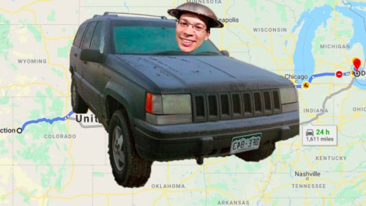 Here's My Idiotic Plan To Drive The Broken 260,000 Mile 'Holy Grail Of Jeep Grand Cherokees' Across The Country