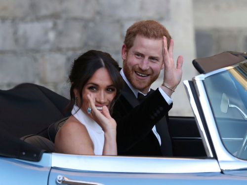 People think Meghan Markle's second wedding dress came straight out of 'Westworld' - including a star of the show