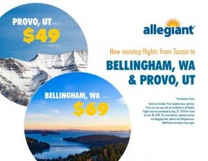 Allegiant Puts Tucson On Its Route Map