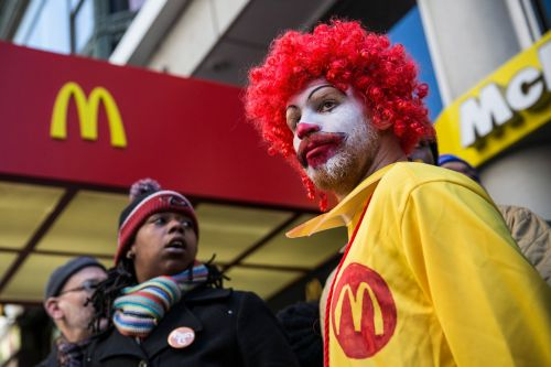 Backed by Fight for $15 and TIMES UP, McDonalds workers file sex harassment claims