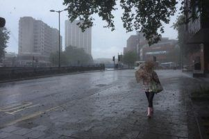 Britain braces for a weekend washout