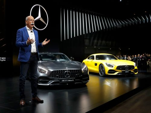Daimler warns 2018 profit will drop because of the trade war and emissions clamp-down
