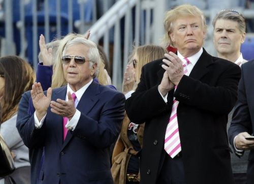 Trump called New England Patriots owner Robert Kraft every week for a year to console him after his wife's death