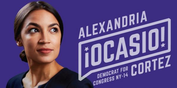 28-year-old Alexandria Ocasio-Cortez was bartending last year - now she's likely being the youngest congresswoman in history
