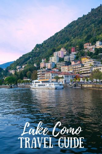 Lake Como Travel Guide + Packing Tips
