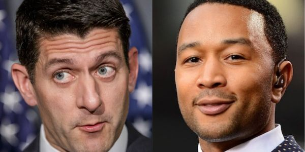 'Seriously, f-- you': John Legend attacks Paul Ryan over family separations at the US-Mexico border