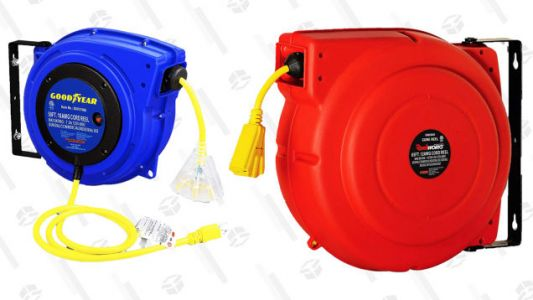 Available Today Only, Save Up to 52% on Extension Cord Reels