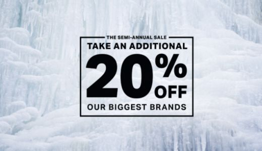 All Your Favorite Brands Are an Extra 20% Off at Backcountry