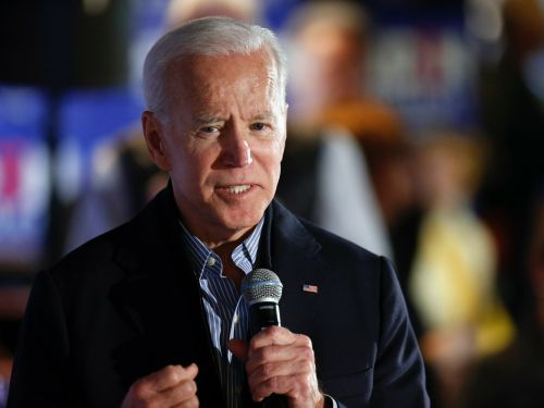 Former Vice President Joe Biden says he 'absolutely agrees' with comment that Trump is an 'illegitimate president'