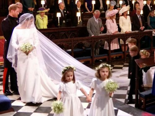 13 photos of Meghan Markle's adorable bridesmaids and page boys at the royal wedding