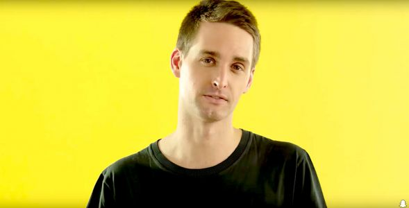 Snap CEO Evan Spiegel said he was taught to be seen, but not heard - which is why he can be so shy with his employees