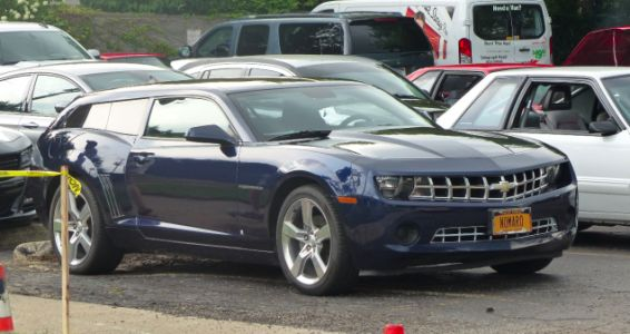 This Chevrolet Camaro Wagon Spotted on the Street Looks So Much Better Than It Has Any Right To