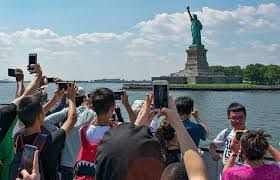 The tourism & leisure industry of North America witnessed a slump of 45.4%