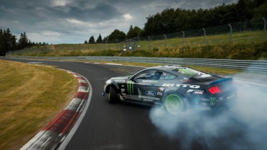 A 900-HP Ford Mustang Drifting theNordschleife Is the OnlyNürburgring Lap Time I Give a Shit About