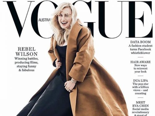 Everyone calm down: Rebel Wilson says her Vogue Australia cover wasn't Photoshopped