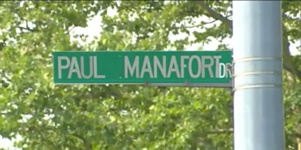 'Are you going to change the name or what?' Connecticut town grapples with 'Paul Manafort Drive'