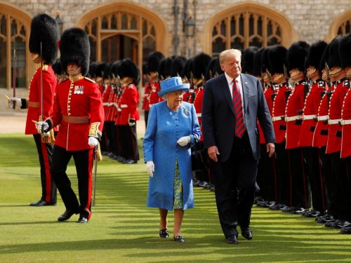 Trump made one of the biggest royal faux pas when visiting the Queen - and people are outraged