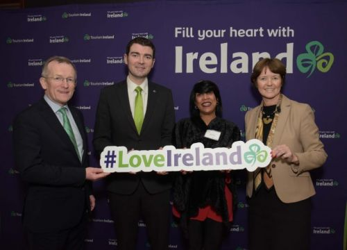 Tourism Minister Brendan Griffin launches Tourism Ireland's 2019 marketing plans in New York