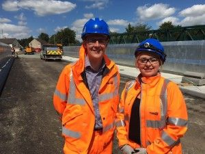 David Linden MP Visits Muirhead Road Bridge Works To View Progress
