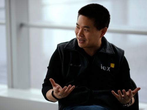 IEX CEO Brad Katsuyama talks about disrupting Wall Street and the power of 'Flash Boys' on the upstart exchange