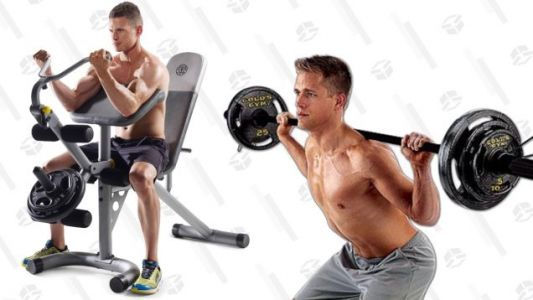 Stay On Top Of Your New Year's Fitness With These Sub-$100 Weight Training Deals