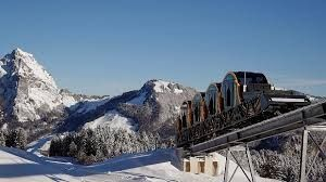 Stoos funicular railway is the world's steepest