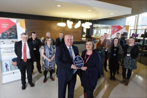 Glasgow's 'Five Star' Kelvin Hall recognised by VisitScotland